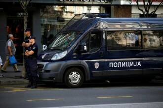 Un barbat a fost arestat la Belgrad dupa ce a amenintat ca se va detona in fata guvernului sarb