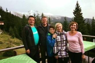 Presedintele Klaus Iohannis, cu sotia in muntii Parang.