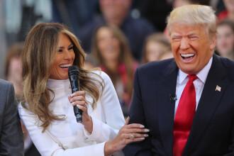 Melania Trump isi apara sotul si sustine ca acesta a fost incurajat sa vorbeasca despre agresiuni sexuale si lucruri obscene