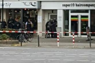 Atac in Germania, dupa ce un barbat a deschis focul intr-un salon de coafura si a luat o ostatica. Supectul, descoperit mort