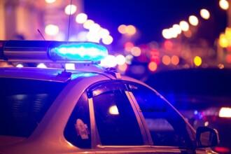 Clipe de cosmar pentru doi politisti englezi. Ce s-a intamplat cand masina le-a luat foc pe autostrada
