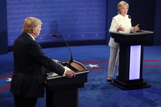 Donald Trump s-a razgandit, dupa ultima dezbatere.