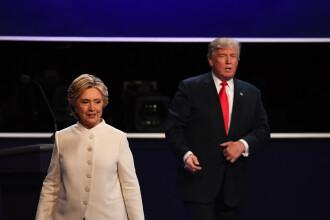 Hillary a castigat si cea de-a treia dezbatere. Care e acum diferenta dintre ea si Trump in cursa pentru Casa Alba