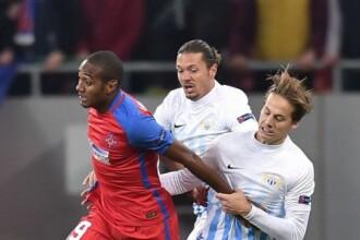 Fotbal - Europa League: Steaua - FC Zurich, 1 - 1, scor final. Steaua ocupa ultimul loc in grupa L, cu 2 puncte