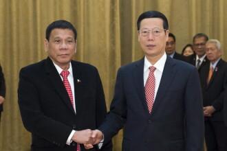 Presedintele filipinez si-a anuntat
