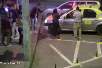 Taximetrist atacat in fata unei discoteci din Ramnicu Sarat. De la ce a pornit conflictul