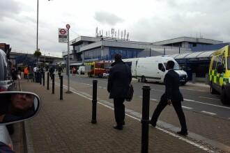 Aeroport evacuat in Londra dupa un