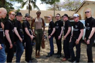 Concurs de frumusete pentru suferinzi de albinism, in Kenya. Localnicii ii considera vrajitori si ii tortureaza