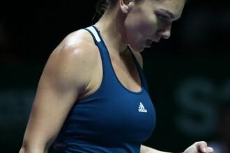 Simona Halep a debutat cu o victorie la Turneul Campionelor din Singapore. Romanca a invins-o pe americanca Madison Keys