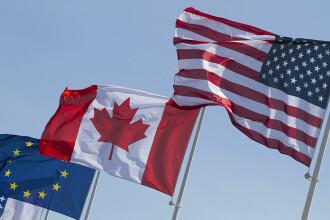 Negocierile din Belgia pentru acordul cu Canada au esuat. Tusk si Trudeau: Summitul UE-Canada inca este posibil