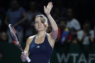 Simona Halep a fost invinsa de Angelique Kerber, la Turneul Campioanelor
