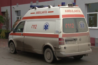 Accident pe DN1, in comuna Selimbar din Sibiu. 2 copii si 5 adulti au fost transportati la spitale