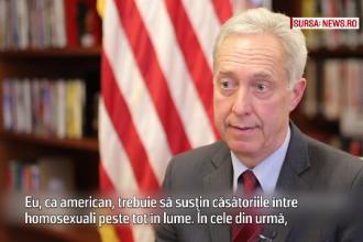 Ambasadorul SUA, Hans Klemm, despre casatoriile gay: