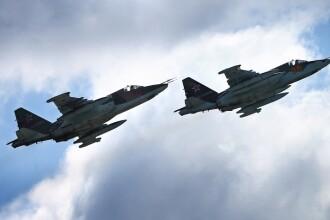 Un avion de lupta al Rusiei, aproape sa se ciocneasca de un avion de lupta al SUA, deasupra Siriei
