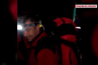 O turista de 36 de ani din Londra a cazut intr-o rapa din Muntii Fagaras. Femeia a fost salvata dupa mai bine de 4 ore