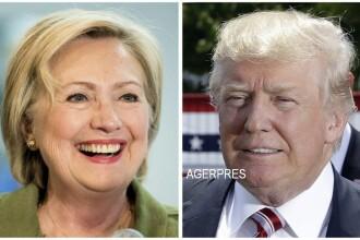 Clinton a scazut in sondaje si ar mai putea primi o lovitura dupa ancheta FBI. Care e acum diferenta dintre ea si Trump