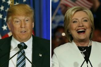 FBI anunta ca NU o va pune sub acuzare pe Hillary Clinton in cazul e-mailurilor. Ce cifre arata ultimul sondaj cu alegerile