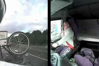 A vrut sa schimbe muzica pe telefon, dar a omorat patru oameni. Soferul de camion a primit ani grei de inchisoare. VIDEO