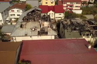 Victima incendiului care a distrus un azil privat din Bucureşti a murit intoxicată cu fum. Declaraţia fiicei bătrânului