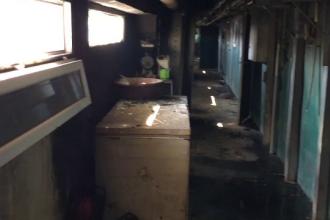 Un incendiu a izbucnit la o fermă din Dolj. Trei persoane, preluate de ambulanță