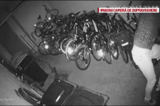 Trei hoți de biciclete, căutați de polițiștii din Timișoara. Paguba depășește 1000 euro