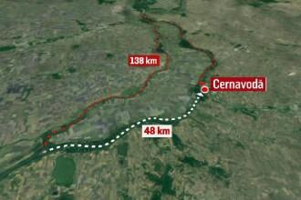 Kilometrul 340, locul unde Dunărea se opreşte. Autorităţile dau vina pe sturioni