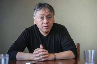 Premiul Nobel pentru Literatură pe 2017, câștigat de scriitorul Kazuo Ishiguro