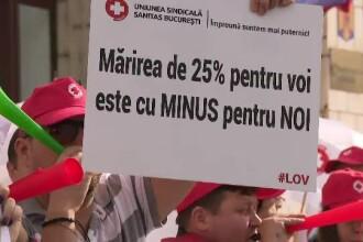 Angajații din Sănătate amenință cu greva generală. Salariile lor s-ar putea înjumătăți