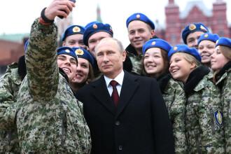 Militarii ruși, interdicție să facă selfie-uri