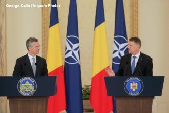 Secretarul general al NATO laudă contribuția României în Alianță