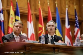Șeful NATO, în Parlamentul României. Iohannis: România este un contributor relevant