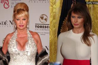 """Ivana Trump: """"Sunt prima soție, deci sunt Prima Doamnă"""". Reacția Melaniei"""