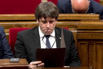 """Preşedintele Parlamentului catalan: """"Carles Puigdemont este singurul candidat"""""""