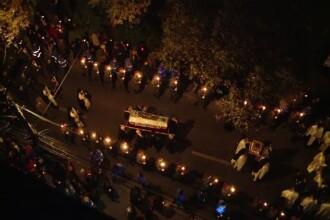 Peste 25.000 de credincioși au participat la procesiunea Calea Sfinților, la Iași