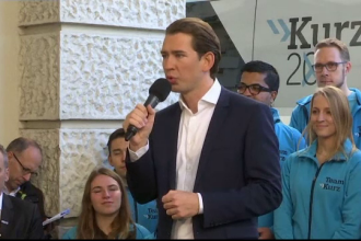 Conservatorii au câștigat alegerile în Austria. Sebastian Kurz, cel mai tânăr lider de țară din lume