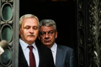 """""""Războiul"""" dintre Liviu Dragnea și Mihai Tudose, tranșat luni, în Comitetul Executiv al PSD"""