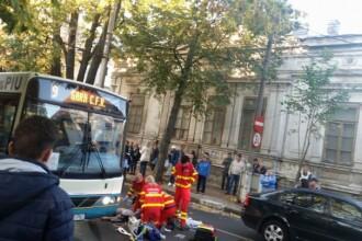 Accident grav, în centrul oraşului Galaţi. O tânăra de 20 de ani, lovită de o maşină