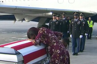 Președintele SUA a făcut o gafă cu văduva unui soldat căzut la datorie. Ce i-a spus la telefon