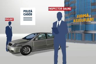 Fraudă uriașă cu asigurările auto. Metodele prin care inspectorii obțineau sume importante