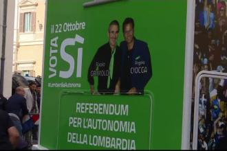 Două regiuni din Italia, inspirate de demersul Cataloniei. Vor independență