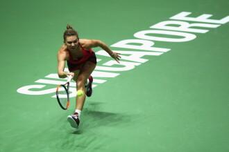 Halep-Garcia: Simona a câștigat prima partidă la Turneul Campioanelor: 6-4, 6-2. LIVE TEXT