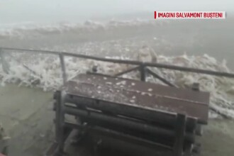 Doi turiști neechipați pentru vremea rea, salvați de jandarmi de pe platoul Bucegi