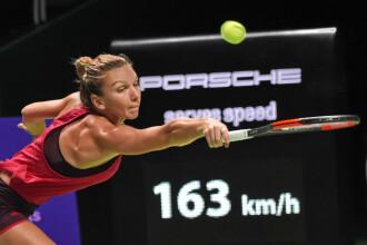 Halep - Wozniacki 0-6; 2-6, la Turneul Campioanelor. Simona: M-am simțit mai greoaie pe teren