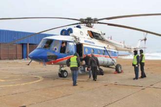 Un elicopter rus, în care se aflau opt persoane, prăbușit în Marea Groenlandei