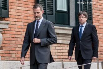 """Regele Spaniei le cere separatiștilor să evite o nouă """"confruntare"""""""