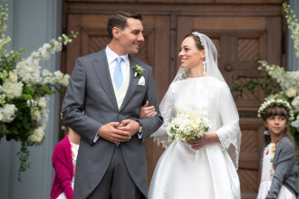 Fostul principe Nicolae şi Alina, primul interviu după nuntă. Cum a cerut-o de soție