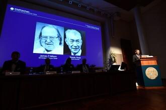 James P. Allison şi Tasuku Honjo au câştigat premiul Nobel pentru Medicină pe 2018