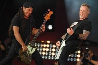 Prețurile cu care se vând pe un site de anunțuri biletele la concertul Metallica din București, de anul viitor