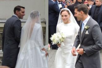 Totul despre nunta Principelui Nicolae cu Alina Binder. Ce spune designerul care a creat rochia