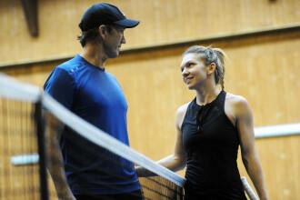 """Simona Halep a anunțat că se va antrena din nou cu Darren Cahill: """"Bine ai venit"""""""